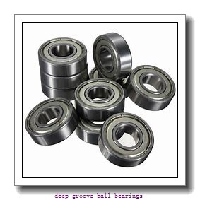 80 mm x 140 mm x 26 mm  skf 6216 Deep groove ball bearings