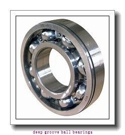 8 mm x 14 mm x 3.5 mm  skf W 637/8 X Deep groove ball bearings