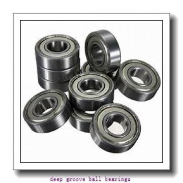 4,762 mm x 12,7 mm x 14,351 mm  skf D/W R3 R-2Z Deep groove ball bearings