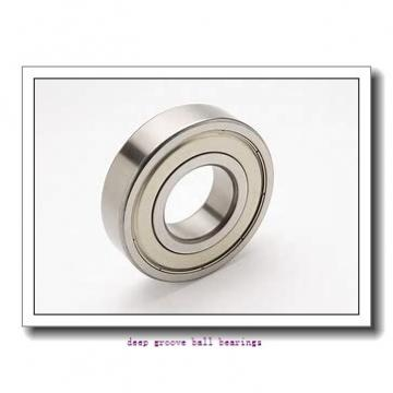 20 mm x 47 mm x 14 mm  skf W 6204-2Z Deep groove ball bearings