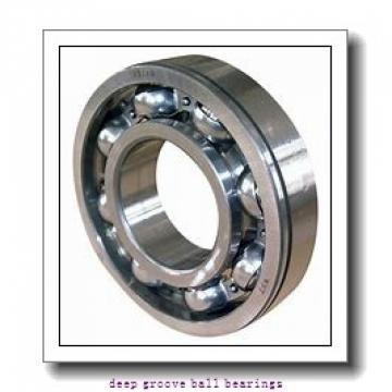 3,175 mm x 6,35 mm x 7,518 mm  skf D/W R144 R-2Z Deep groove ball bearings