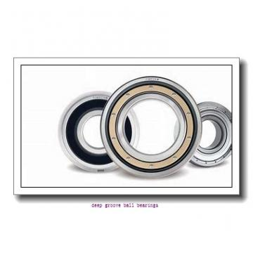 1060 mm x 1280 mm x 100 mm  skf 618/1060 MA Deep groove ball bearings