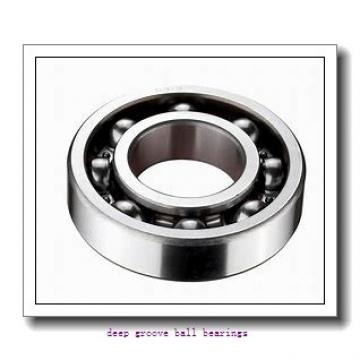 30 mm x 42 mm x 7 mm  skf W 61806 R-2Z Deep groove ball bearings