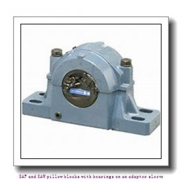 skf SAFS 22518-11 x 3.1/4 SAF and SAW pillow blocks with bearings on an adapter sleeve