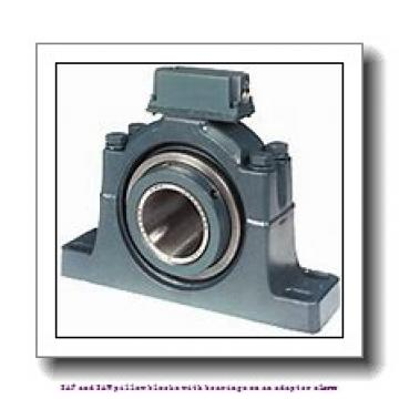 skf SAW 23520 x 3.1/2 T SAF and SAW pillow blocks with bearings on an adapter sleeve