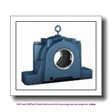 skf SAFS 22528 x 5 T SAF and SAW pillow blocks with bearings on an adapter sleeve