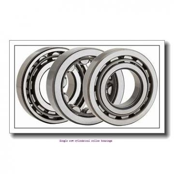 95 mm x 170 mm x 43 mm  NTN NUP2219 Single row cylindrical roller bearings