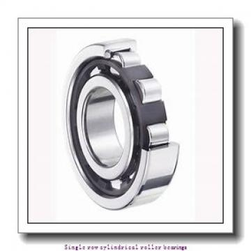 30 mm x 72 mm x 27 mm  SNR NU.2306.E.G15 Single row cylindrical roller bearings