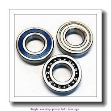 75,000 mm x 115,000 mm x 20,000 mm  NTN 6015ZNR Single row deep groove ball bearings