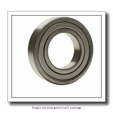 55 mm x 90 mm x 18 mm  NTN 6011ZZC3/L627 Single row deep groove ball bearings