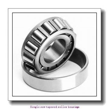 46 mm x 75 mm x 18 mm  skf LM 503349/310 Single row tapered roller bearings