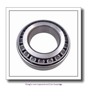 45.242 mm x 77.788 mm x 19.842 mm  skf LM 603049/011 AA Single row tapered roller bearings