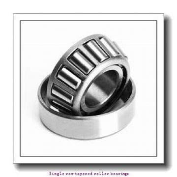 139.7 mm x 236.538 mm x 56.72 mm  skf HM 231132/110 Single row tapered roller bearings