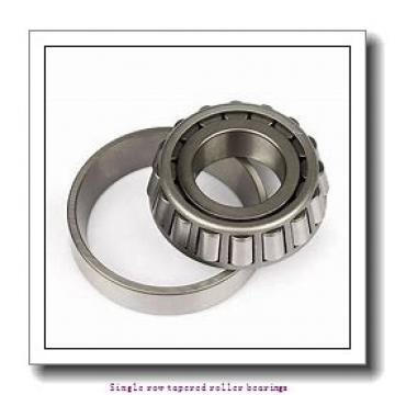 30 mm x 62 mm x 25 mm  skf 33206 Single row tapered roller bearings