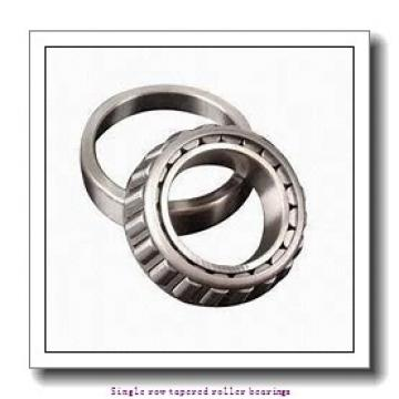 38.1 mm x 65.088 mm x 18.288 mm  skf LM 29749/711 Single row tapered roller bearings