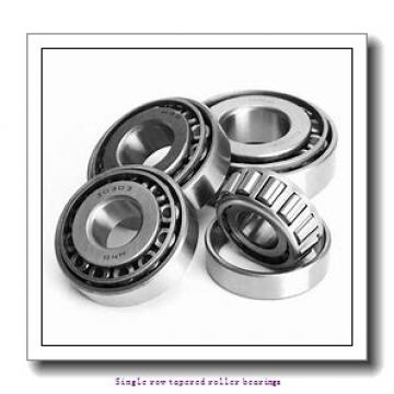 17 mm x 47 mm x 14 mm  skf 30303 Single row tapered roller bearings