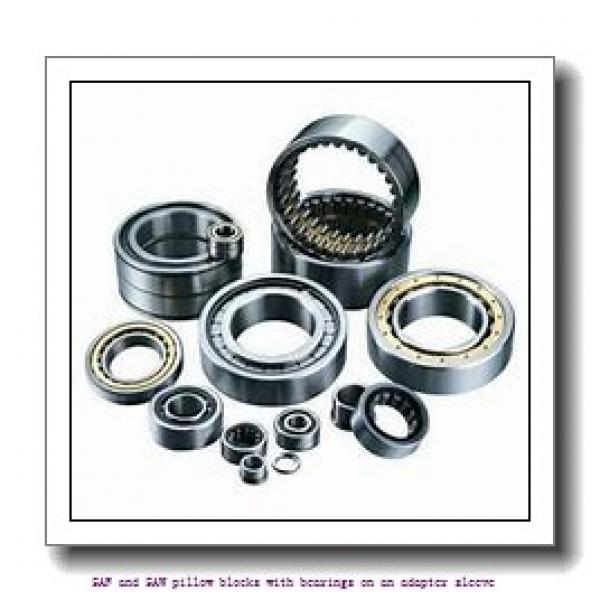skf FSAF 1518 x 3.1/8 SAF and SAW pillow blocks with bearings on an adapter sleeve #1 image