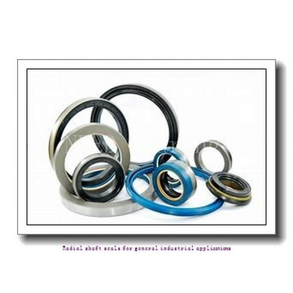 skf 42X72X8 HMS5 V Radial shaft seals for general industrial applications #1 image