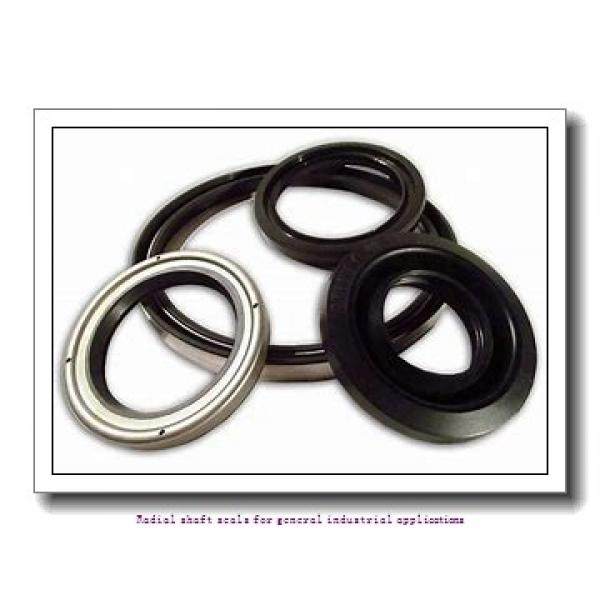 skf 55X80X8 CRW1 R Radial shaft seals for general industrial applications #1 image