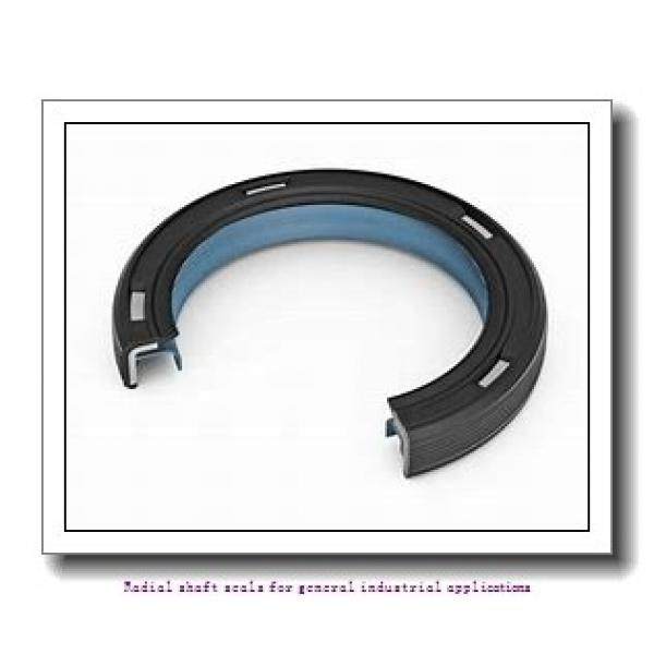 skf 60X85X8 CRW1 V Radial shaft seals for general industrial applications #1 image
